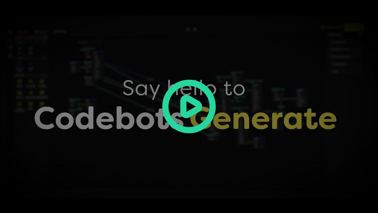 Codebots Generate Walkthrough Video